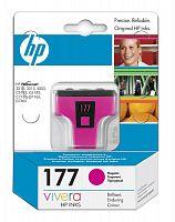 Картридж струйный HP 177 C8772HE пурпурный (370стр.) для HP 3313/C5183/C6183/C7183/D7163/8253