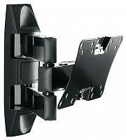 "Кронштейн для телевизора Holder LCDS-5065 черный 19""-32"" макс.30кг настенный поворот и наклон"