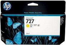 Картридж струйный HP 727 B3P21A желтый (130мл) для HP DJ T920/T1500