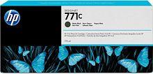 Картридж струйный HP 771C B6Y07A черный матовый (775мл) для HP DJ Z6200