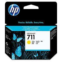 Картридж струйный HP 711 CZ132A желтый (29мл) для HP DJ T120/T520