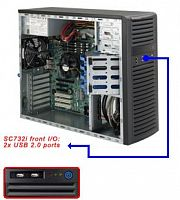 Корпус SuperMicro CSE-732i-865B Midi-Tower 865W черный