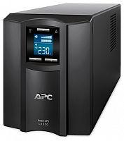 Источник бесперебойного питания APC Smart-UPS C SMC1500I 900Вт 1500ВА черный