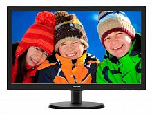 "Монитор Philips 21.5"" 223V5LSB (00/01) черный TN+film LED 16:9 DVI матовая 250cd 1920x1080 D-Sub FHD 2.61кг"