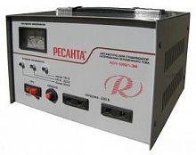 Стабилизатор напряжения Ресанта АСН-1000/1-ЭМ электромеханический однофазный серый