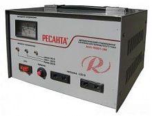 Стабилизатор напряжения Ресанта АСН-1500/1-ЭМ электромеханический однофазный серый