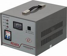 Стабилизатор напряжения Ресанта АСН-2000/1-ЭМ электромеханический однофазный серый