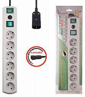 Сетевой фильтр Most RG-U 3м (6 розеток) белый (коробка)