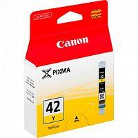 Картридж струйный Canon CLI-42Y 6387B001 желтый (284стр.) для Canon PRO-100
