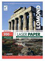 Бумага Lomond 0310341 A4/200г/м2/250л./белый глянцевое/глянцевое для лазерной печати