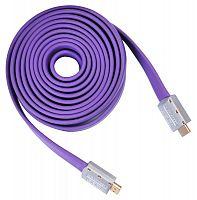 Кабель аудио-видео Buro HDMI 1.4 HDMI (m)/HDMI (m) 5м. черный (HDMI 19M-19M V1.4 FL)