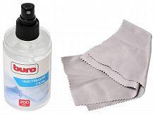 Чистящий набор (салфетки + гель) Buro BU-Gsurface для поверхностей 200мл