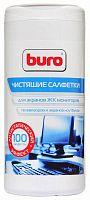 Салфетки Buro BU-Tscreen для экранов мониторов/плазменных/ЖК телевизоров/ноутбуков туба 100шт влажных