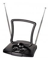 Антенна телевизионная Hama H-44269 44дБ активная черный каб.:1.5м
