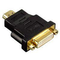 Переходник Hama H-34036 00034036 HDMI (m) DVI-D (f) черный