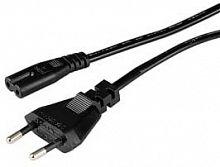 Кабель Hama 00044225 IEC C7 (2-pin) Евровилка 1.5м