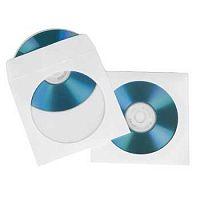 Конверт Hama на 1CD/DVD H-51174 белый (упак.:100шт)
