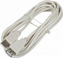 Кабель-удлинитель Ningbo USB2.0-AM-AF-3-BR USB A(m) USB A(f) 3м блистер