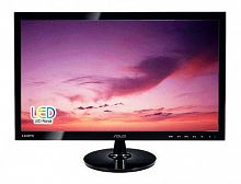 "Монитор Asus 23.6"" VS247HR черный TN+film LED 2ms 16:9 DVI HDMI матовая 250cd 1920x1080 D-Sub FHD 4.21кг"