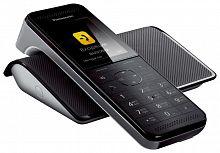 Р/Телефон Dect Panasonic KX-PRW120RUW черный автооветчик АОН