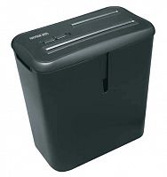 Шредер Office Kit S30 (секр.P-4)/фрагменты/6лист./14лтр./скобы/пл.карты/CD
