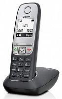 Р/Телефон Dect Gigaset A415 RUS черный АОН