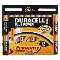 Батарея Duracell Basic LR6-18BL MN1500 AA (18шт)