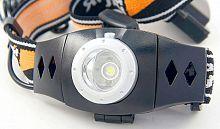 Фонарь налобный Яркий Луч LH-3D черный 3Вт лам.:светодиод. AAAx3
