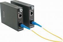 Медиаконвертер D-Link DMC-1910R/A9A WDM 1x1000Base-T 1x1000Base-LX SC ТХ:1310nm RX:1550nm SingleMode 15km