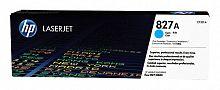 Картридж лазерный HP 827A CF301A голубой для HP CLJ Ent M880