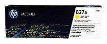 Картридж лазерный HP 827A CF302A желтый для HP CLJ Ent M880