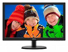 "Монитор Philips 21.5"" 223V5LSB (10/62) черный TN+film LED 16:9 матовая 250cd 1920x1080 D-Sub 2.61кг"