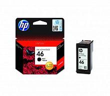 Картридж струйный HP 46 CZ637AE черный (1500стр.) для HP DJ Adv 2020hc/2520hc