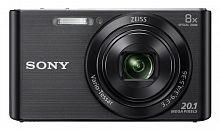 "Фотоаппарат Sony Cyber-shot DSC-W830 черный 20.1Mpix Zoom8x 2.7"" 720p 27Mb MS Pro/MS Pro Duo Super HAD CCD 1x2.3 IS opt 5minF 0.8fr/s 30fr/s/Li-Ion"