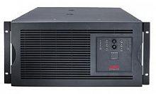 Источник бесперебойного питания APC Smart-UPS SUA5000RMI5U 4000Вт 5000ВА черный