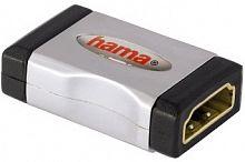 Адаптер аудио-видео Hama HDMI (f)/HDMI (f) Позолоченные контакты серый 3зв (00122231)
