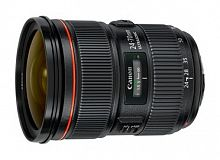 Объектив Canon EF IS USM (6313B005) 24-70мм f/4L черный