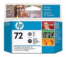 Печатающая головка HP 72 C9380A фото черный/серый для HP DJ T1100/T610