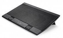 """Подставка для ноутбука Deepcool WIND PAL (WINDPAL) 17""""382x262x24мм 27дБ 4xUSB 2x 140ммFAN 793г черный"""