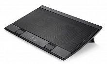 """Подставка для ноутбука Deepcool WIND PAL FS (WINDPALFS) 17""""382x262x24мм 27дБ 2xUSB 2x 140ммFAN 793г черный"""