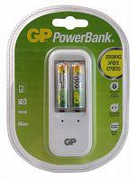 Аккумулятор + зарядное устройство GP PowerBank PB410GS65 AAA 650mAh (2шт)