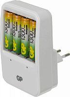 Аккумулятор + зарядное устройство GP PowerBank PB420GS130 AA NiMH 1300mAh (4шт)
