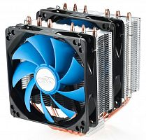 Устройство охлаждения(кулер) Deepcool NEPTWIN V2 Soc-FM2+/AM2+/AM3+/AM4/1150/1151/1155/2011 4-pin 18-30dB Al+Cu 150W LED Ret
