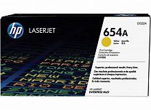 Картридж лазерный HP 654A CF332A желтый (15000стр.) для HP CLJ Ent M651n/M651dn/M651xh/M680dn/M680f