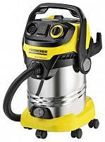 Строительный пылесос Karcher WD6 P Premium 1300Вт (уборка: сухая/сбор воды) желтый