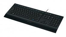 Клавиатура Logitech K280e черный USB