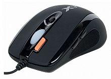 Мышь A4 X-710BK черный оптическая (2000dpi) USB (7but)