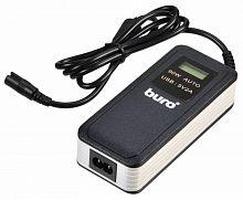 Блок питания Buro BUM-0065A90 автоматический 90W 12V-20V 11-connectors 5A 1xUSB 2.1A от бытовой электросети LСD индикатор