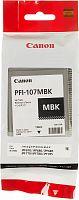 Картридж струйный Canon PFI-107MBK 6704B001 черный матовый для Canon iP F680/685/780/785
