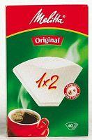 Фильтры для кофе для кофеварок капельного типа Filtero №2 белый (упак.:40шт)